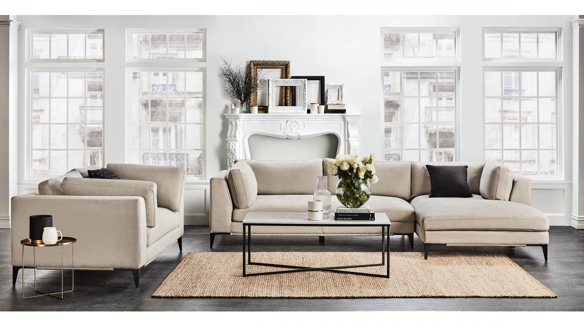 Alara 1 5 Seater Fabric Armchair
