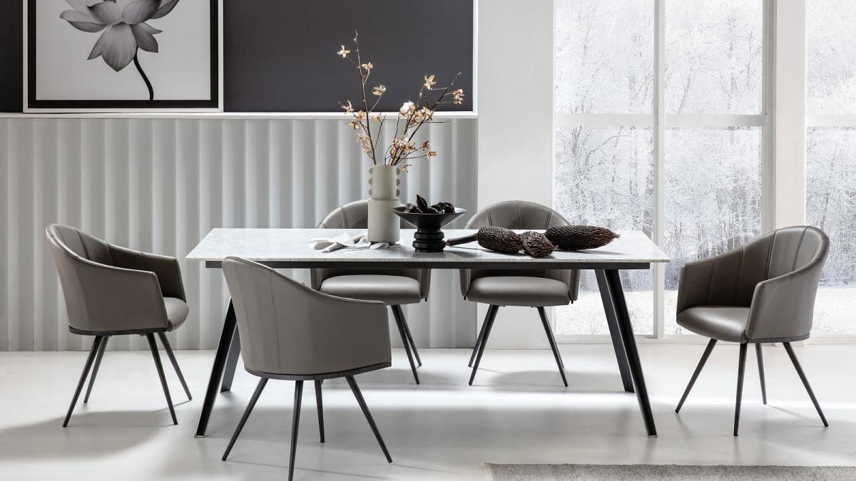 Excellent Duomo Swivel Dining Chair Pdpeps Interior Chair Design Pdpepsorg
