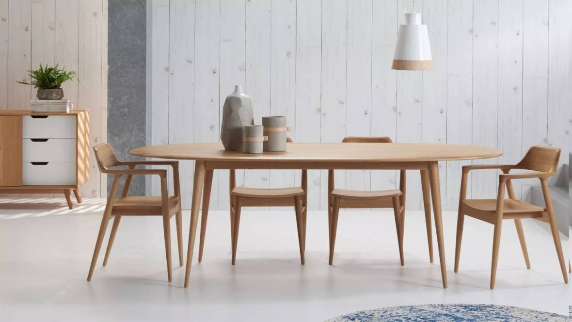 Bianca Oval Dining Table & Buy Bianca Oval Dining Table | Domayne AU
