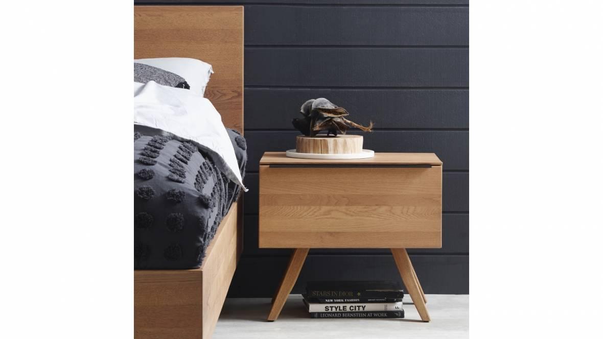 Rimini 1-Drawer Bedside Table