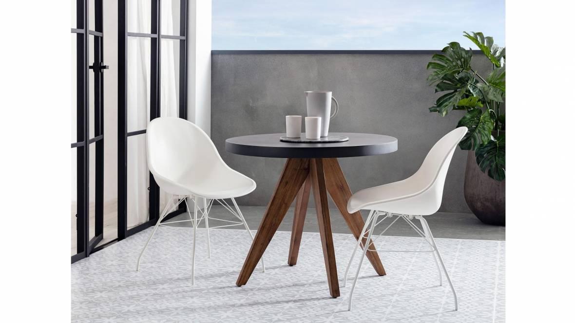 Onyx Outdoor Balcony Round Table