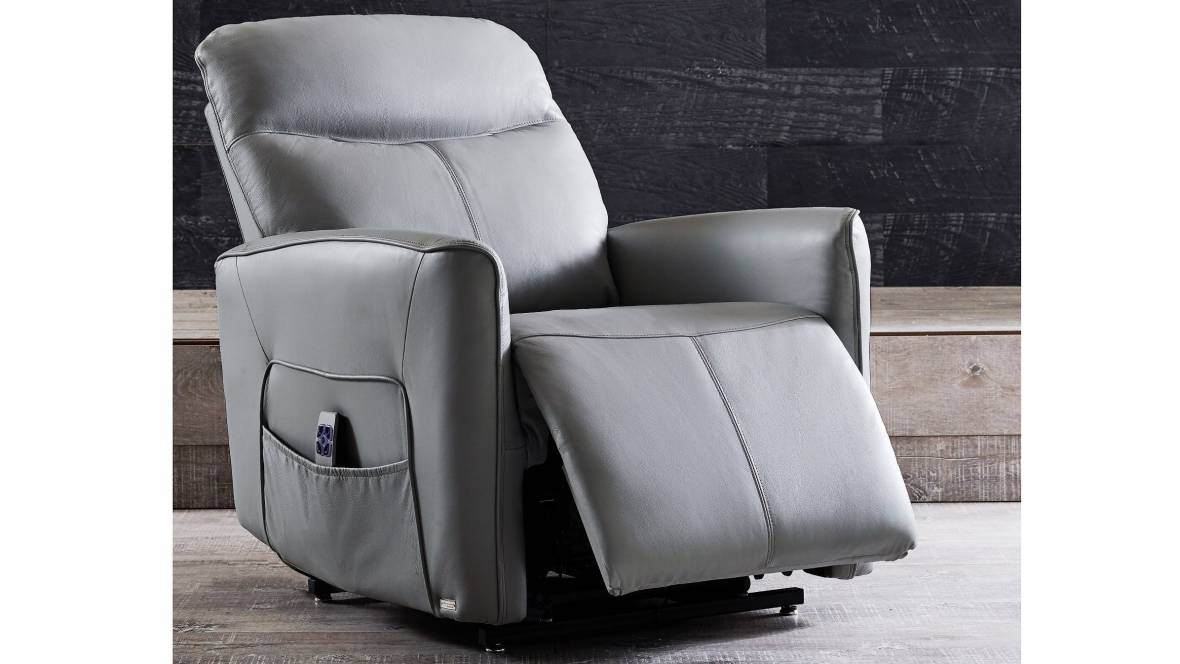 Savoy Leather Lift Electric Recliner