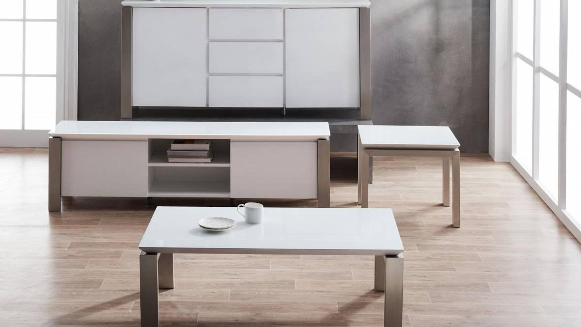 Lustre Lamp Table