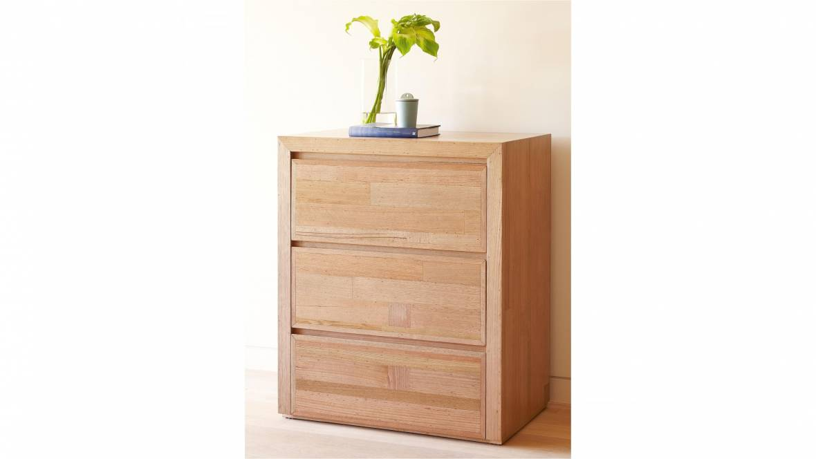 Pod 3 Drawer Tallboy