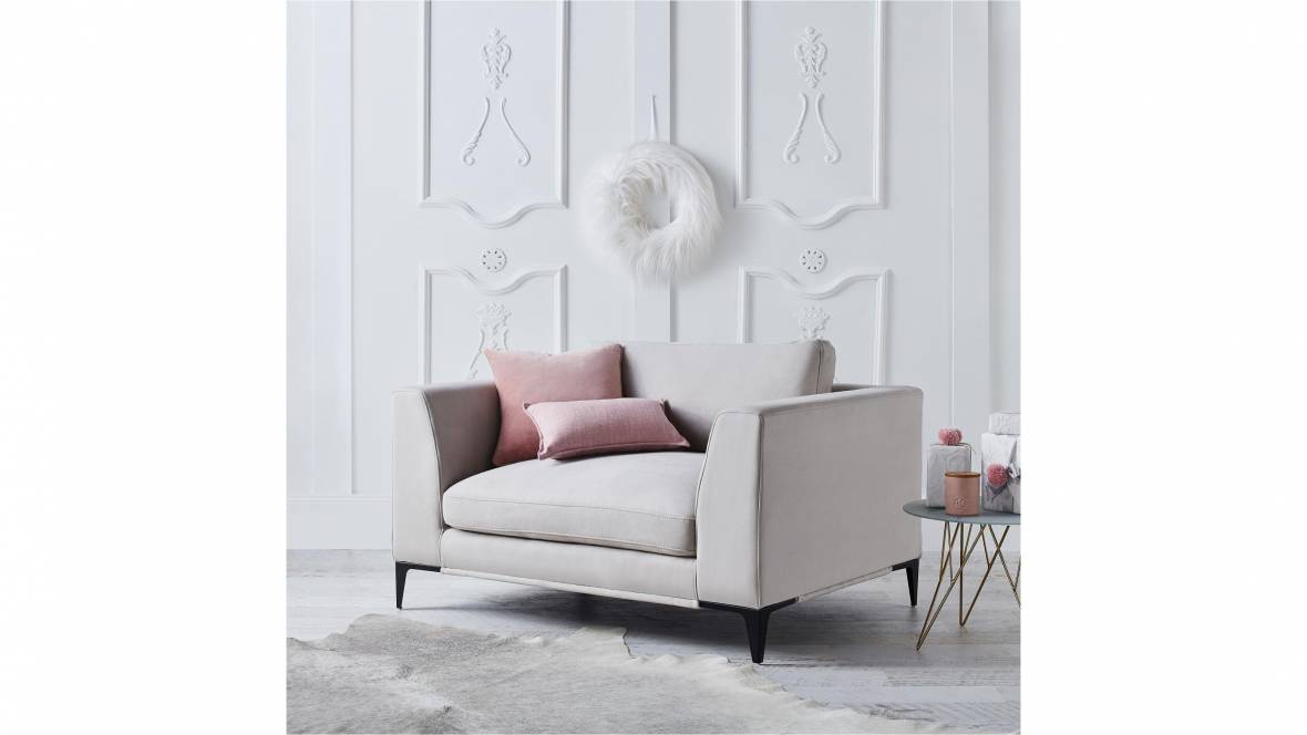 Alara 1.5-Seater Fabric Armchair