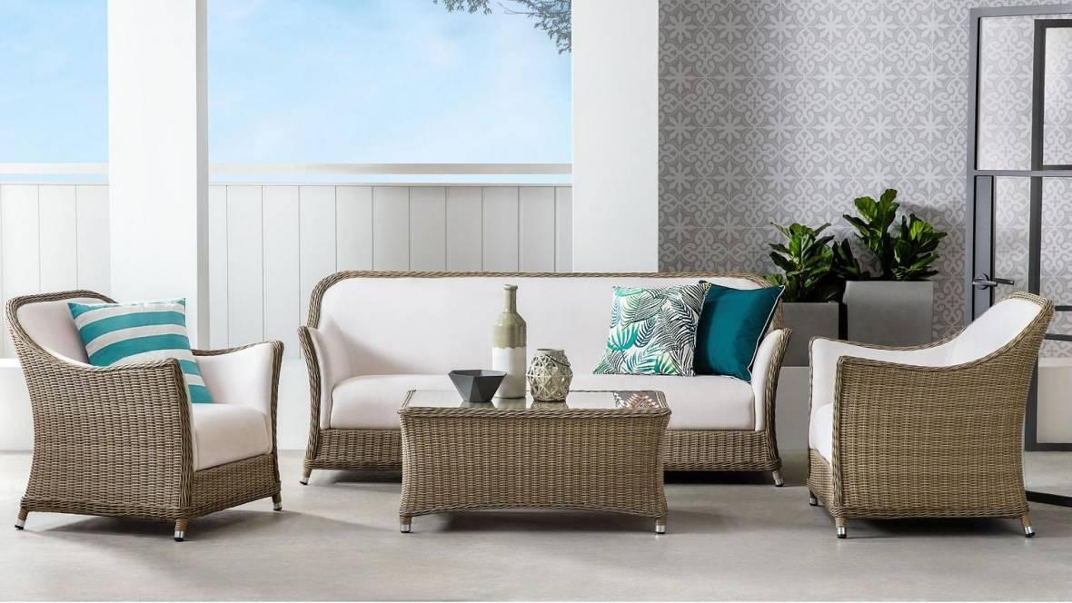 Fullerton 3-Seater Outdoor Lounge