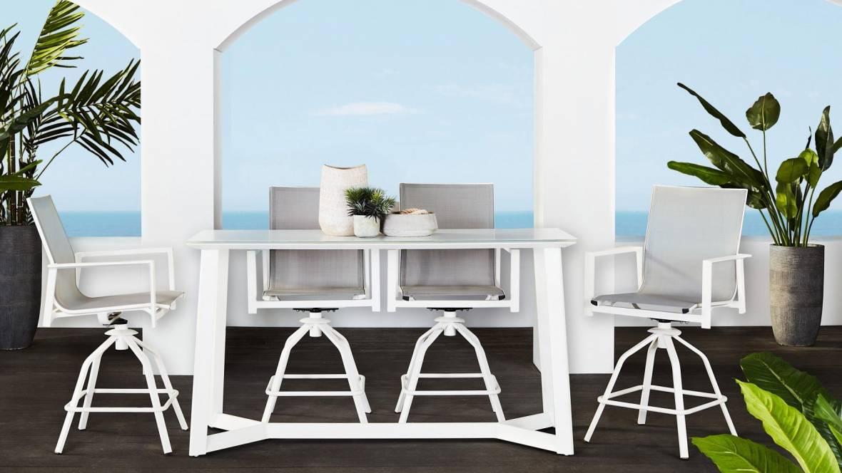 Clovelly Outdoor High Dining Chair