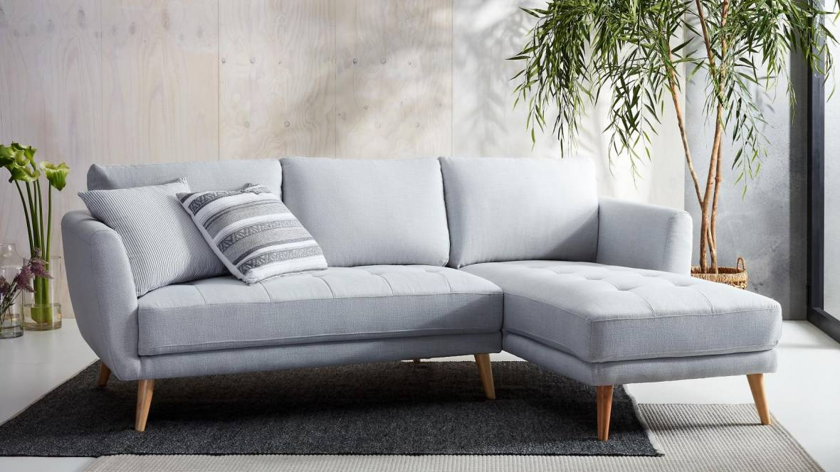 Elysse 2-Seater Fabric Lounge With Chaise
