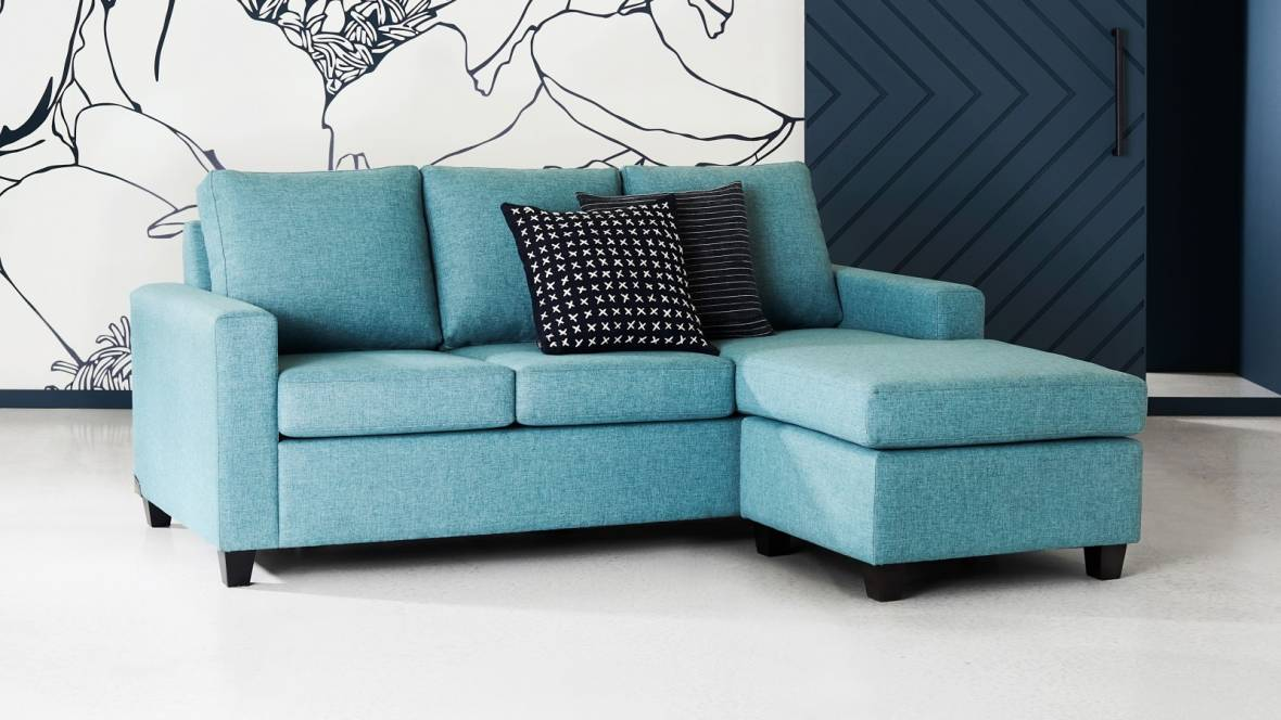 Admirable Buy Newport Fabric Sofa Bed Domayne Au Pabps2019 Chair Design Images Pabps2019Com