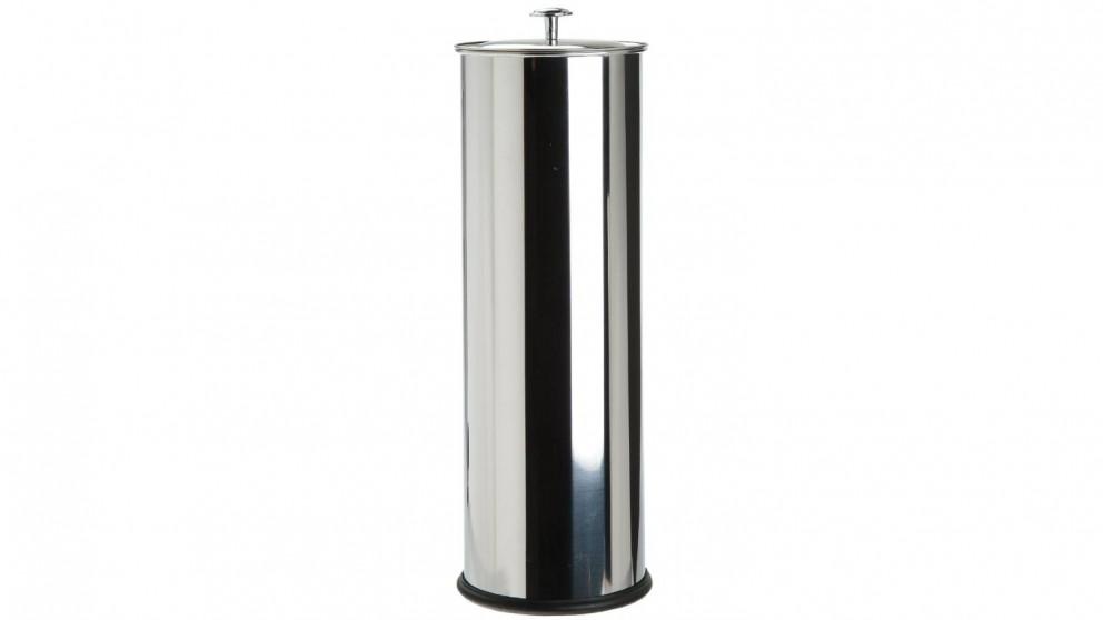 Linen House Toilet Roll Holder - Stainless Steel