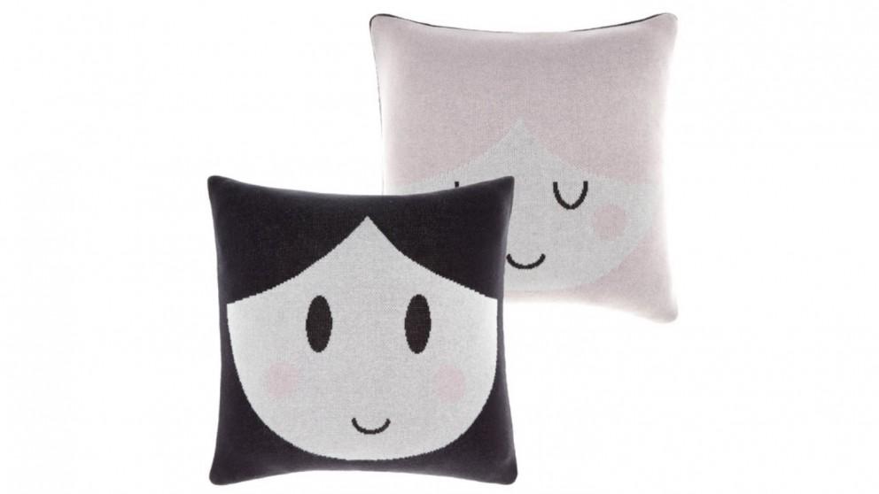 Linen House Doll Face Cushion