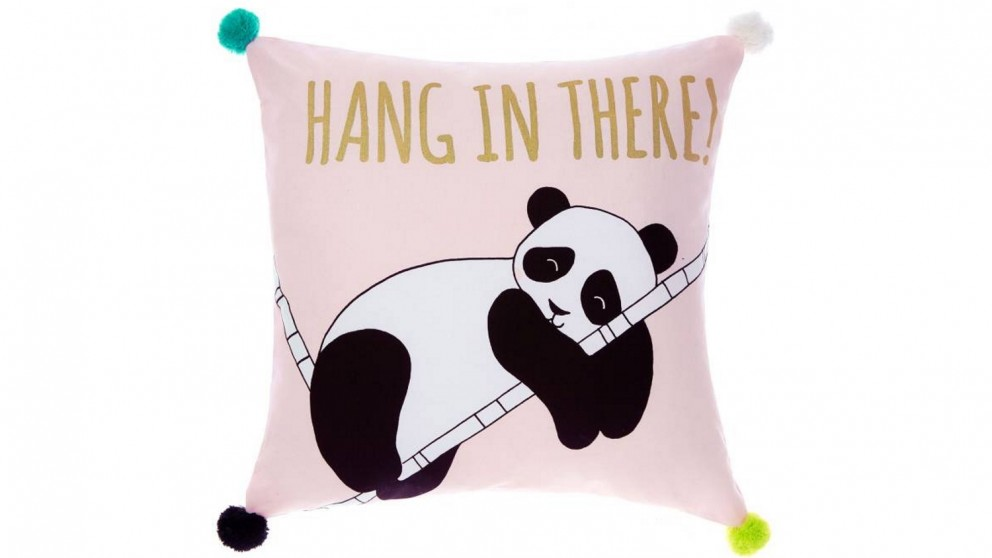 Linen House Hang In There Novelty Cushion
