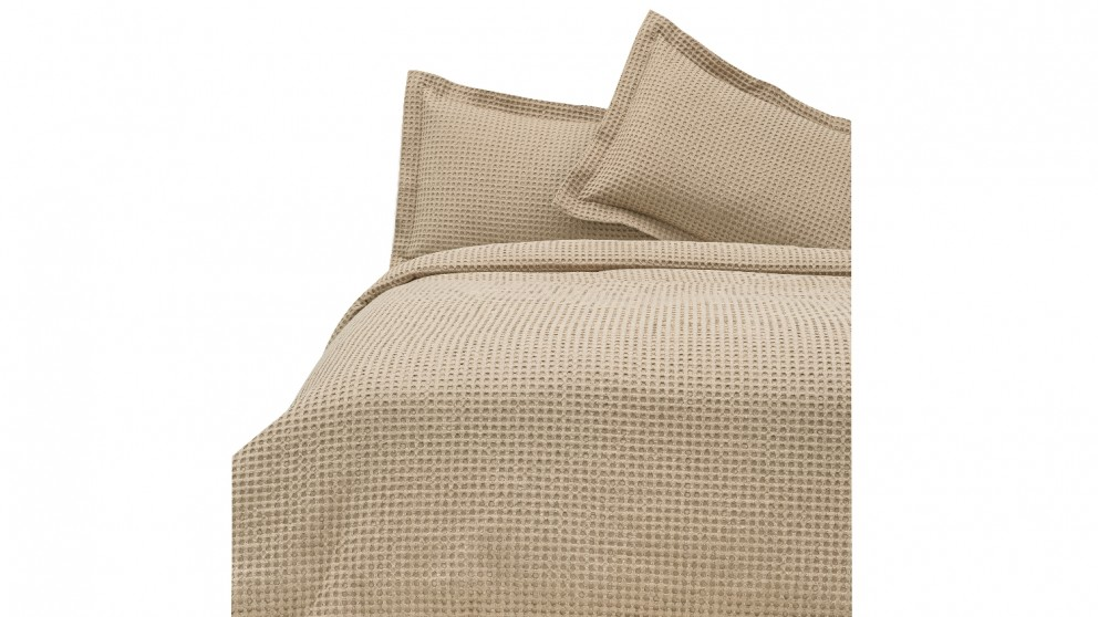 Linen House Deluxe Waffle - Tan