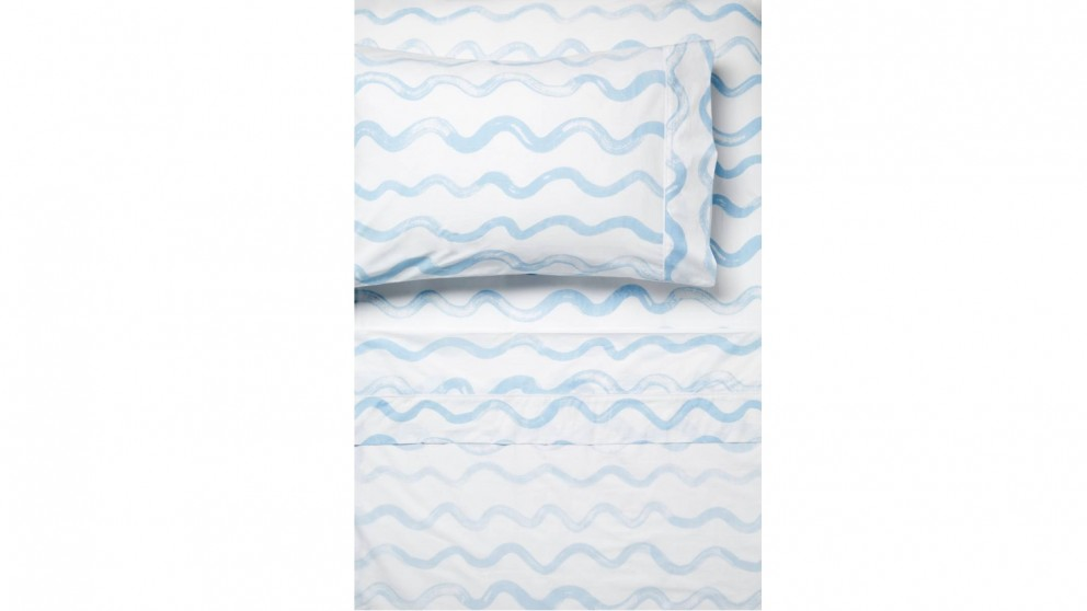 Linen House Squiggle Sheet Set