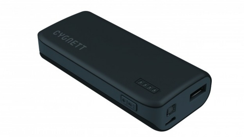 Cygnett ChargeUp Sport 4400mAh Power Bank - Black