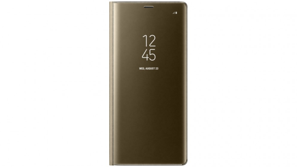 Samsung Galaxy Note 8 Clear View Standing Cover - Gold