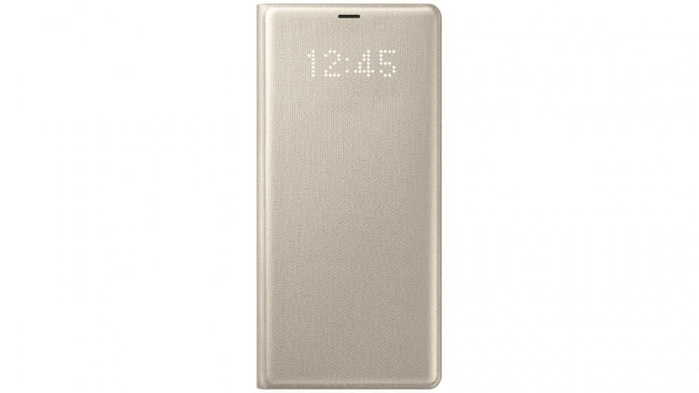 Samsung Galaxy Note 8 LED Cover - Gold