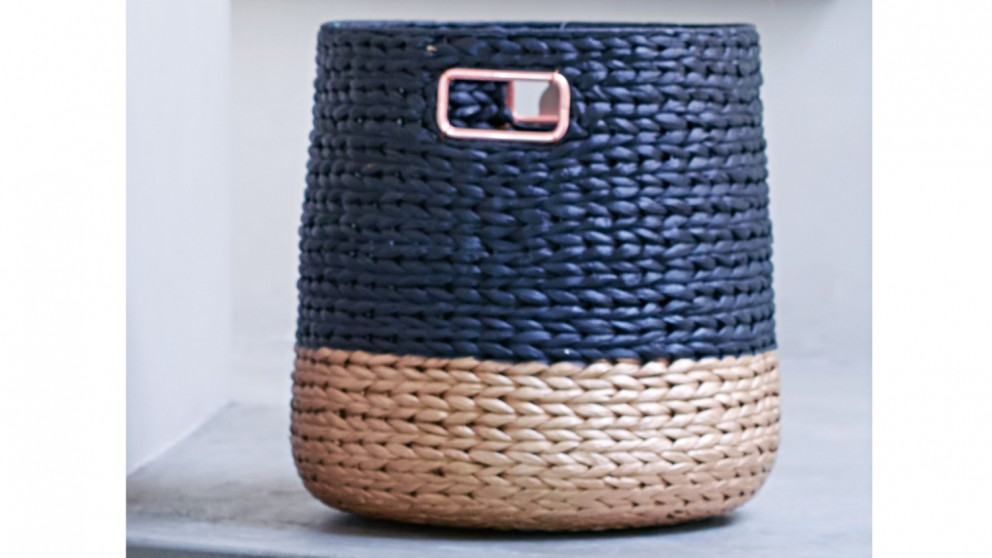 Jasper Round Basket
