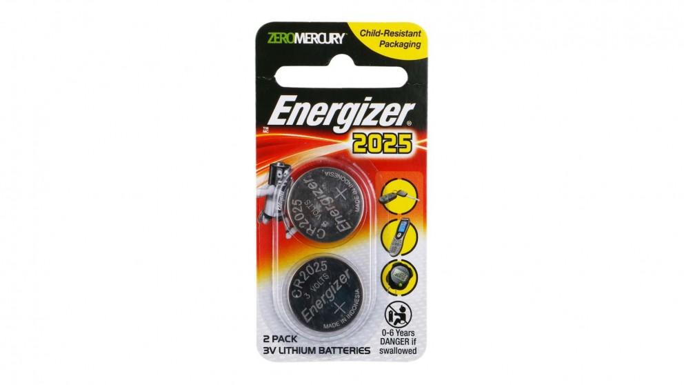 Energizer Lithium Coin 2025 Batteries