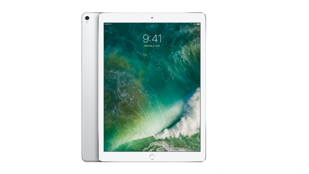 Apple 12.9 Inch iPad Pro Wi-Fi Cellular 256GB - Silver (2017)