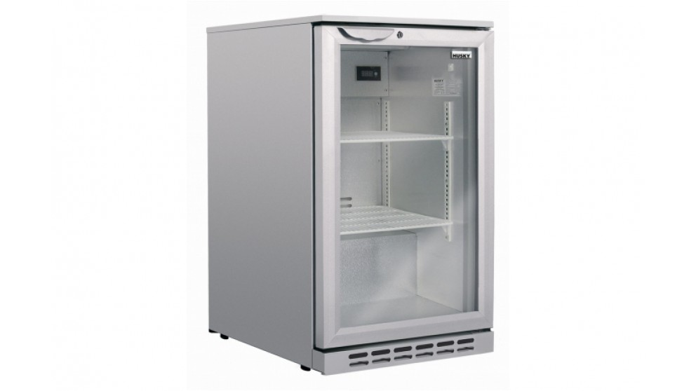 Husky 113L Single Door Back Bar Fridge