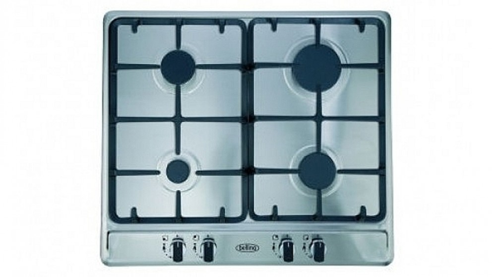 Belling 600mm 4 Burner Gas Cooktop - Stainless Steel