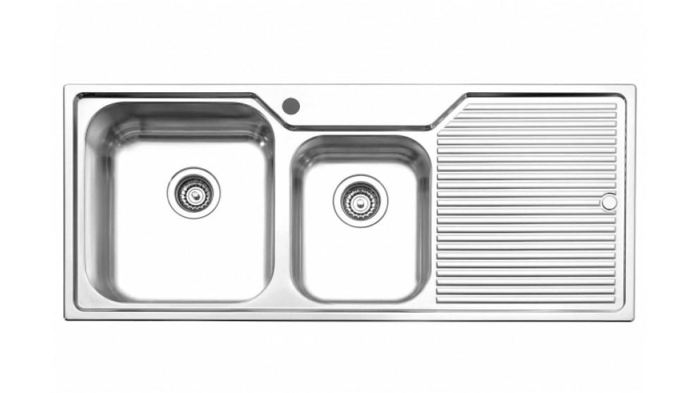 Oliveri Nu Petite 80cm Left Hand Bowl Sink