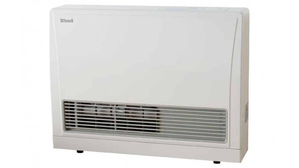 Rinnai EnergySaver 559FT Flued LPG Fan Heater - White