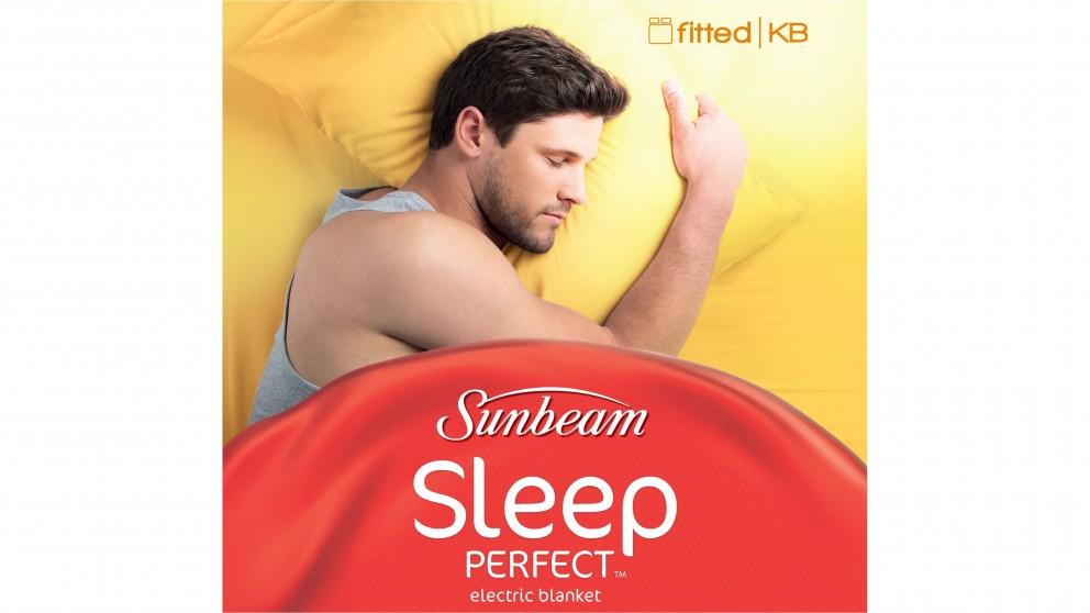 Sunbeam Sleep Perfect Fitted Heated Blanket - King Bed