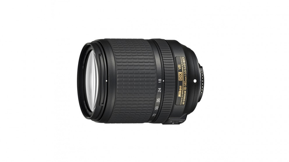 Nikon AF-S DX 18-140mm F3.5-5.6 G ED VR Camera Lens