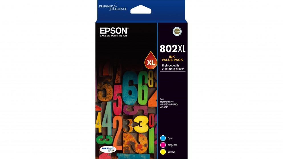 Epson 802XL DURABrite Ultra 3 Colour Ink Cartridge