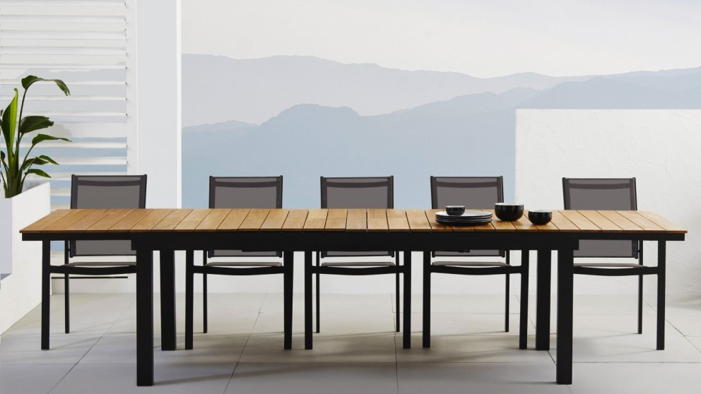 Archer 9 Piece Outdoor Extension Dining Setting