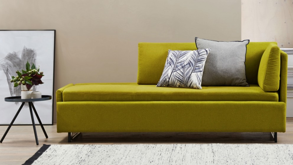 Francis Pull-Out Fabric Sofabed - Fern