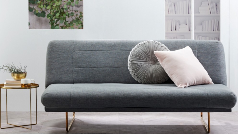 Swell Buy Orwell Click Clack Fabric Sofabed Domayne Au Home Interior And Landscaping Ologienasavecom