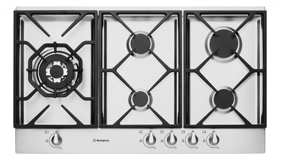 Buy Westinghouse Whg956sa 900mm 5 Burner Gas Cooktop Stainless