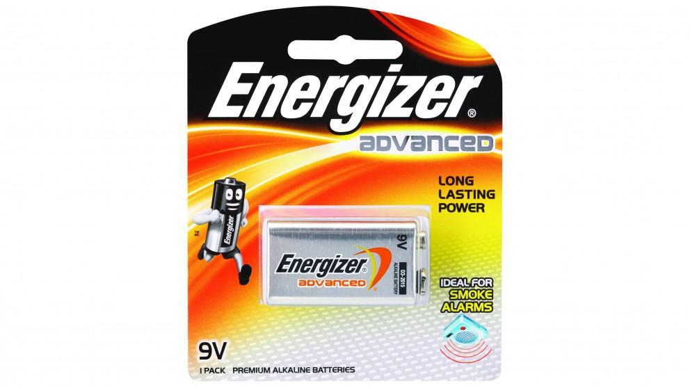 Energizer Advanced 9V Battery