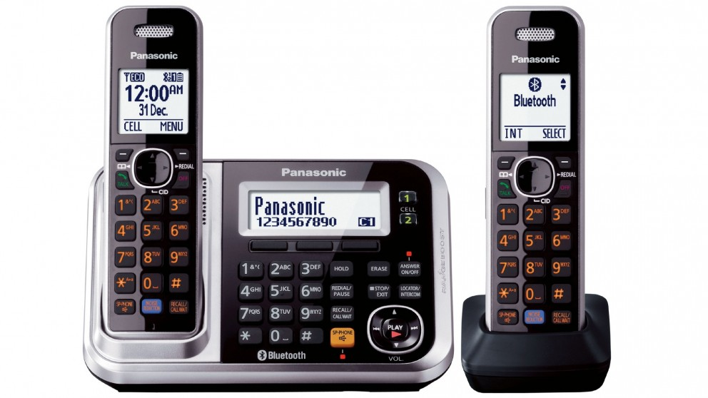 Panasonic KXTG7892AZS Twin Pack Cordless Phone