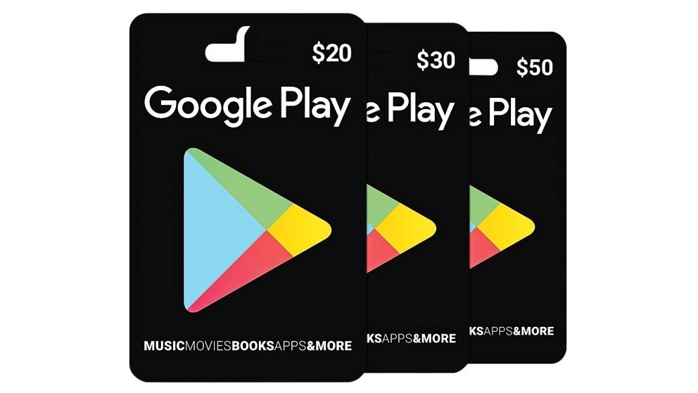 Google Play Cards