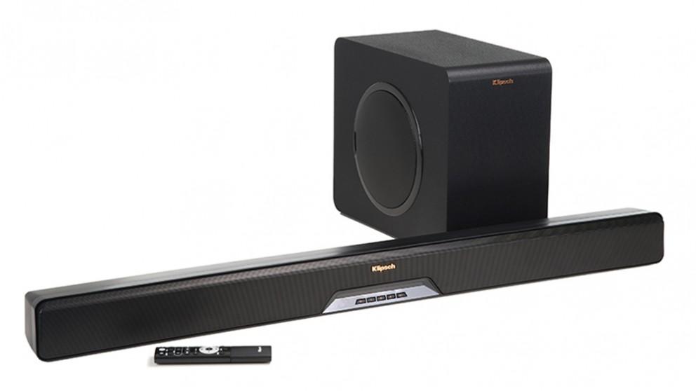 Klipsch Reference RSB-11 Soundbar and Wireless Subwoofer
