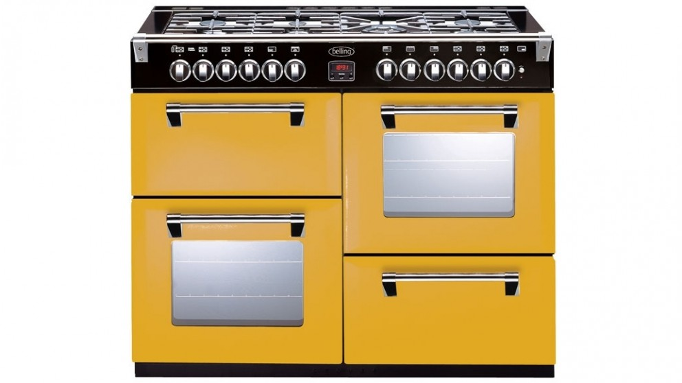 Belling 1100mm Richmond Colour Boutique Dual Fuel Range Freestanding Oven - First Bloom