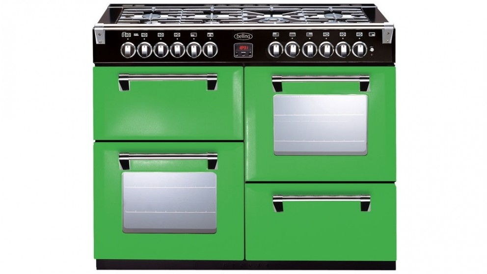 Belling 1100mm Richmond Colour Boutique Dual Fuel Range Freestanding Oven - Rolling Countryside