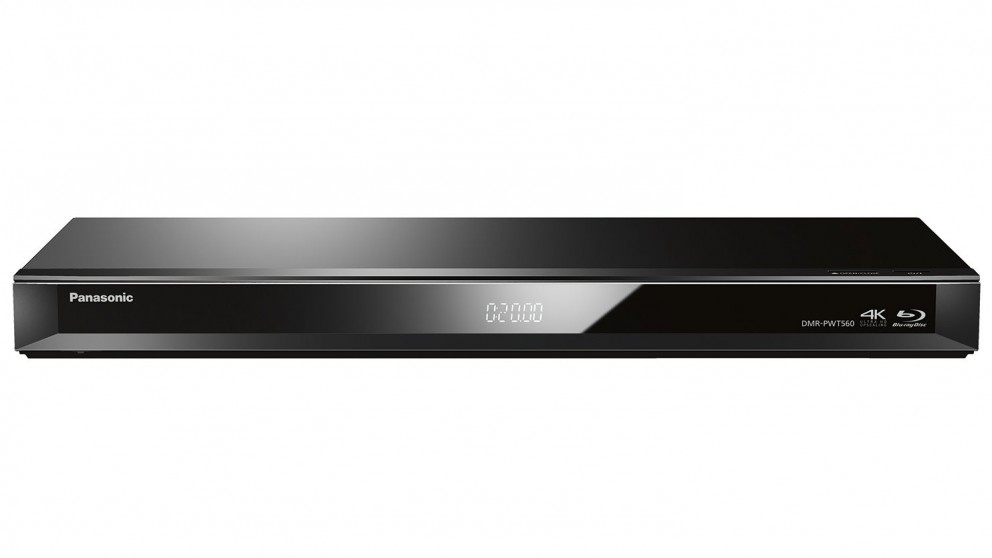 Panasonic Smart Network 3D Blu-ray Player With 500GB Twin HD Tuner Recorder