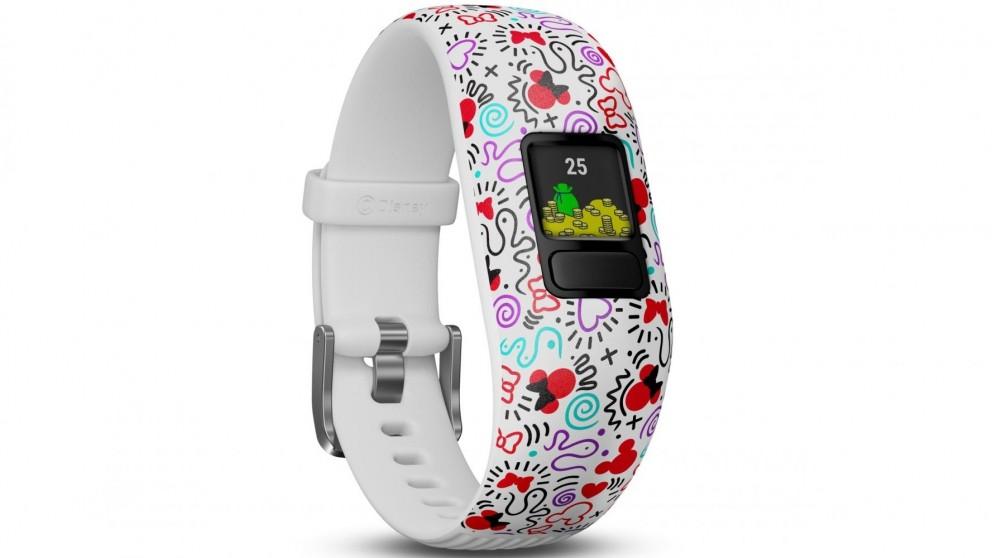 Garmin Vivofit Jr 2 Adjustable Activity Tracker - Minnie Mouse