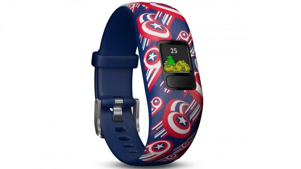 Garmin Vivofit Jr 2 Adjustable Activity Tracker - Captain America