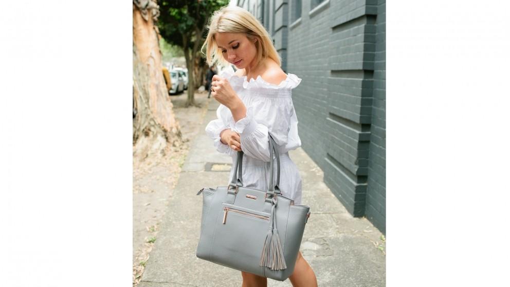 Code Republic Lisa Luxe Tech Handbag - Grey