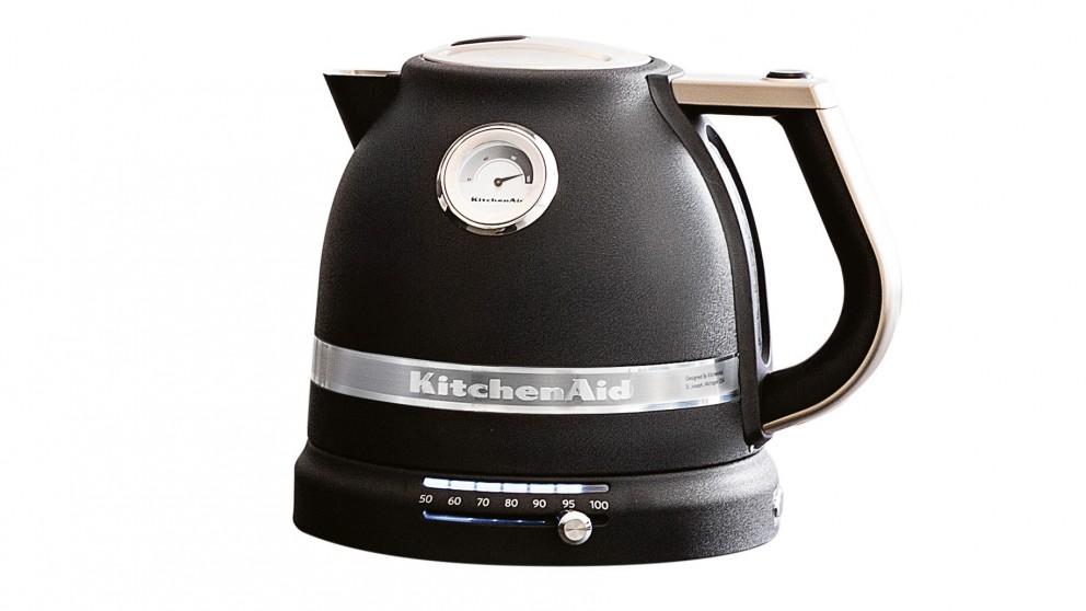 KitchenAid Proline 1.5L Electric Kettle - Cast Iron Black