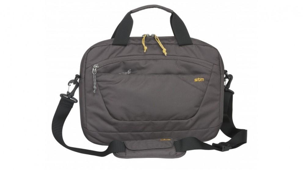 """STM Swift 13"""" Laptop Shoulder Bag  - Steel"""