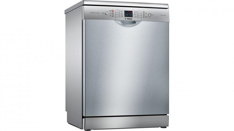 Bosch 60cm Series 4 Anti-Fingerprint Freestanding Dishwasher