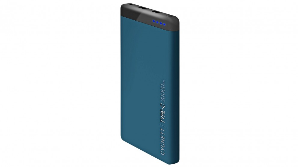 Cygnett ChargeUp Pro 20000mAh Power Bank - Teal