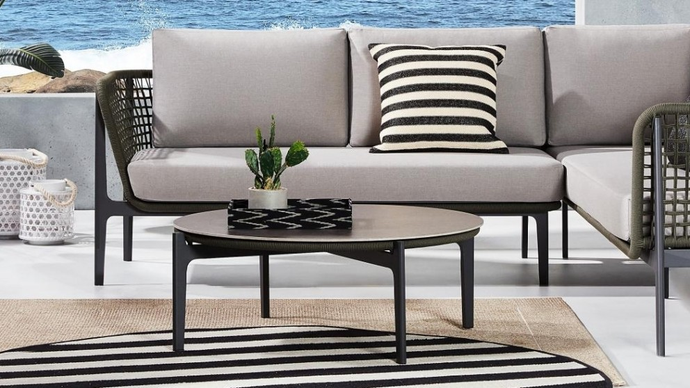 Buy Cian Outdoor Olive Coffee Table | Domayne AU